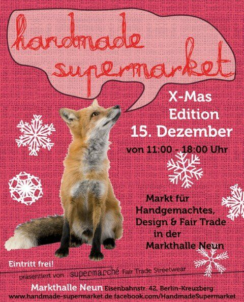 Handmade Supermarket Flyer