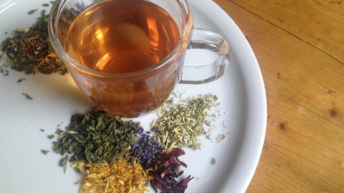 Hot Summer Tea